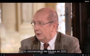 Tomas parle de 2020 pour les travaux